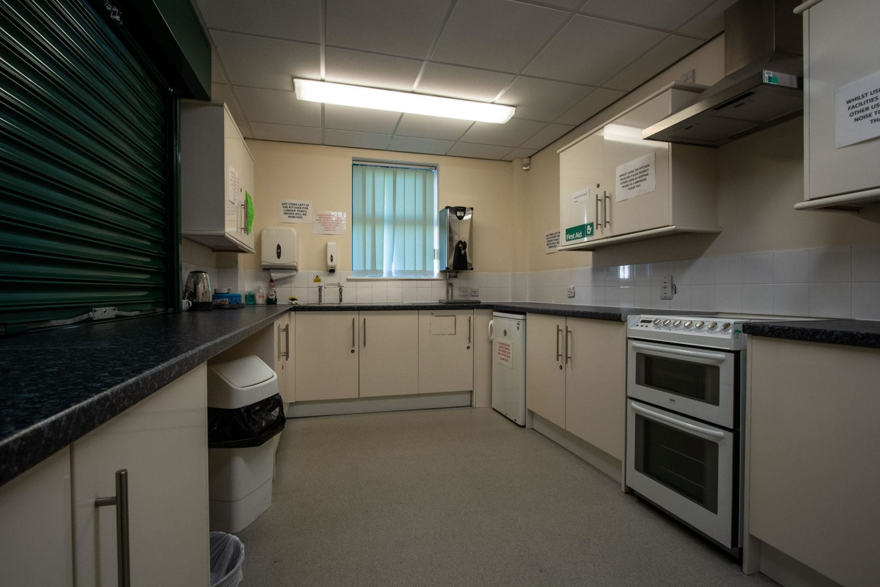 Kitchen facilities at Petuaria Community Centre