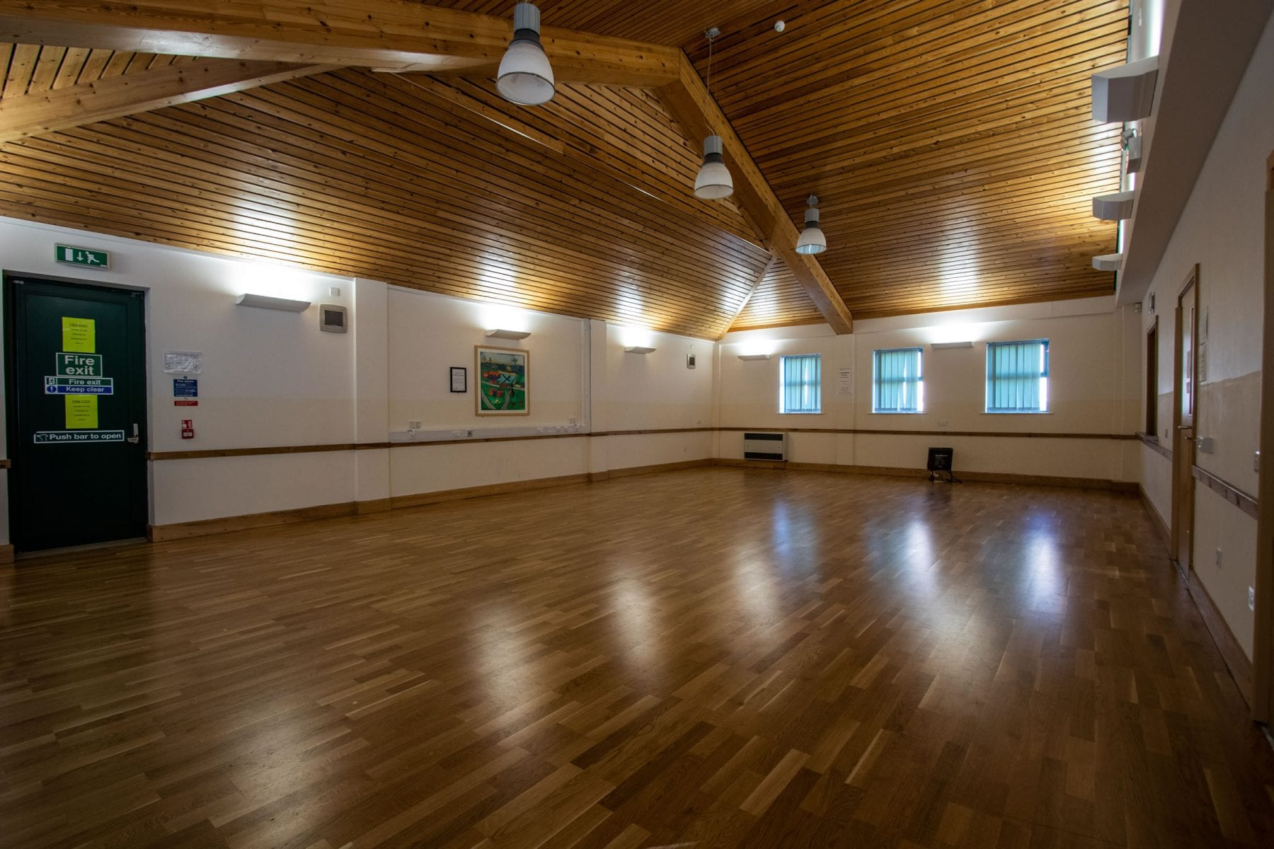 Petuaria Community Centre Main Hall interior