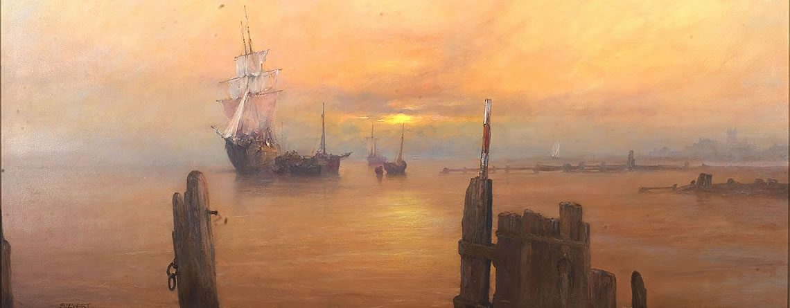 Seascapes & Romantic Marine Paintings