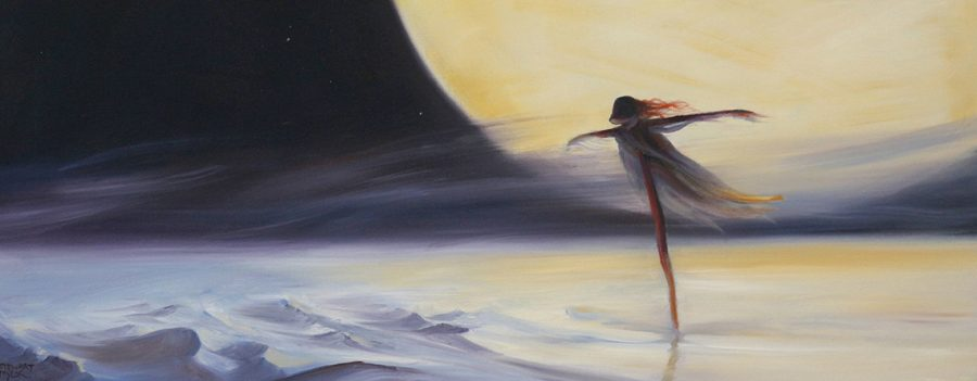 Science fiction themed paintings from the imagination of Stewart Taylor