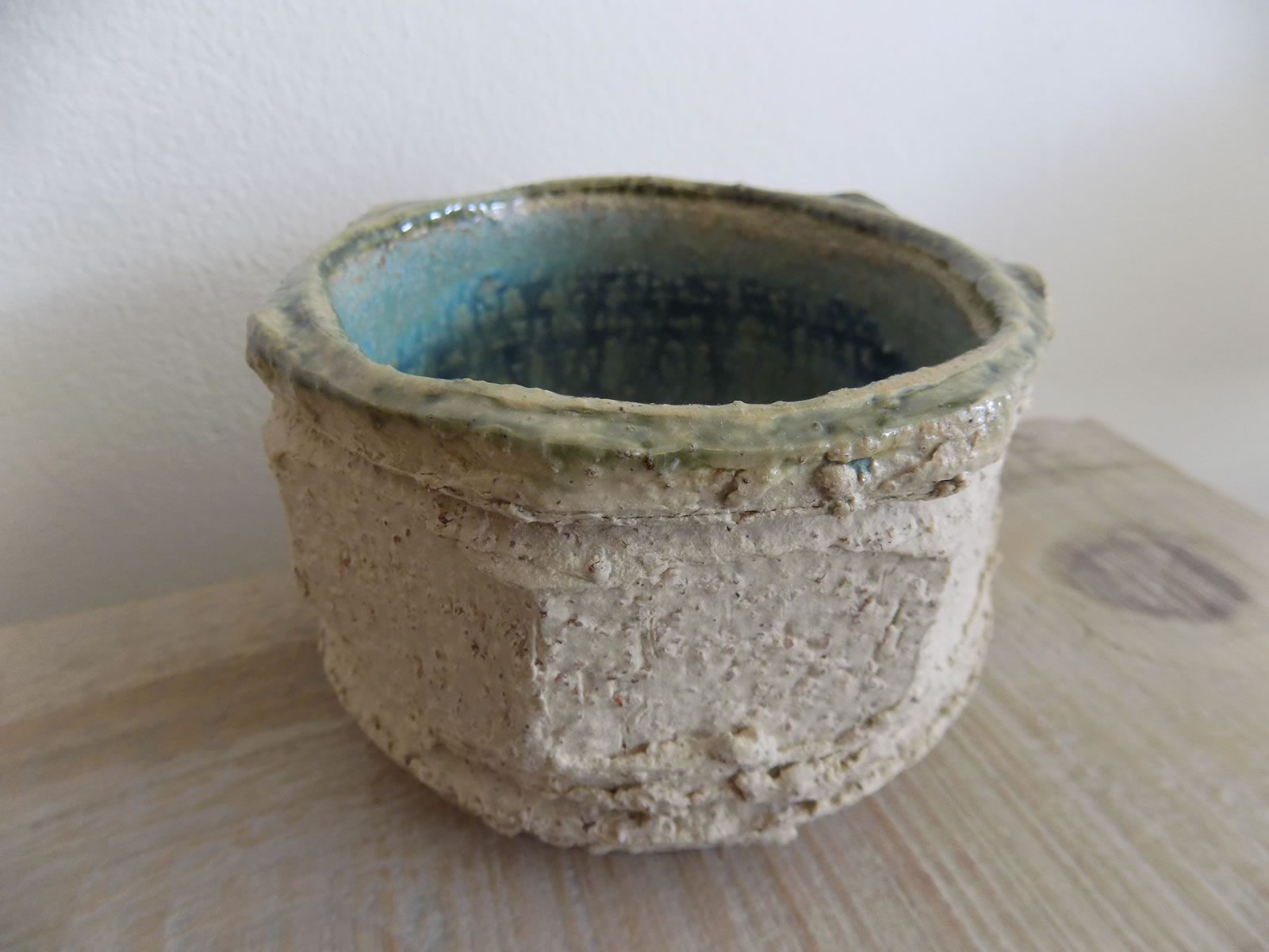 Crank stoneware bowl by Stewart Taylor ceramics East Yorkshire