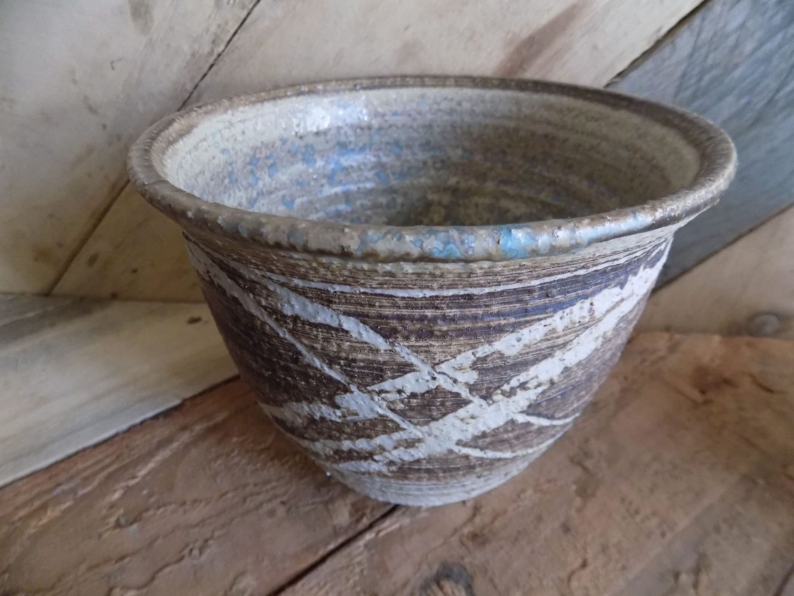 Stoneware bowl by Stewart Taylor ceramics East Yorkshire