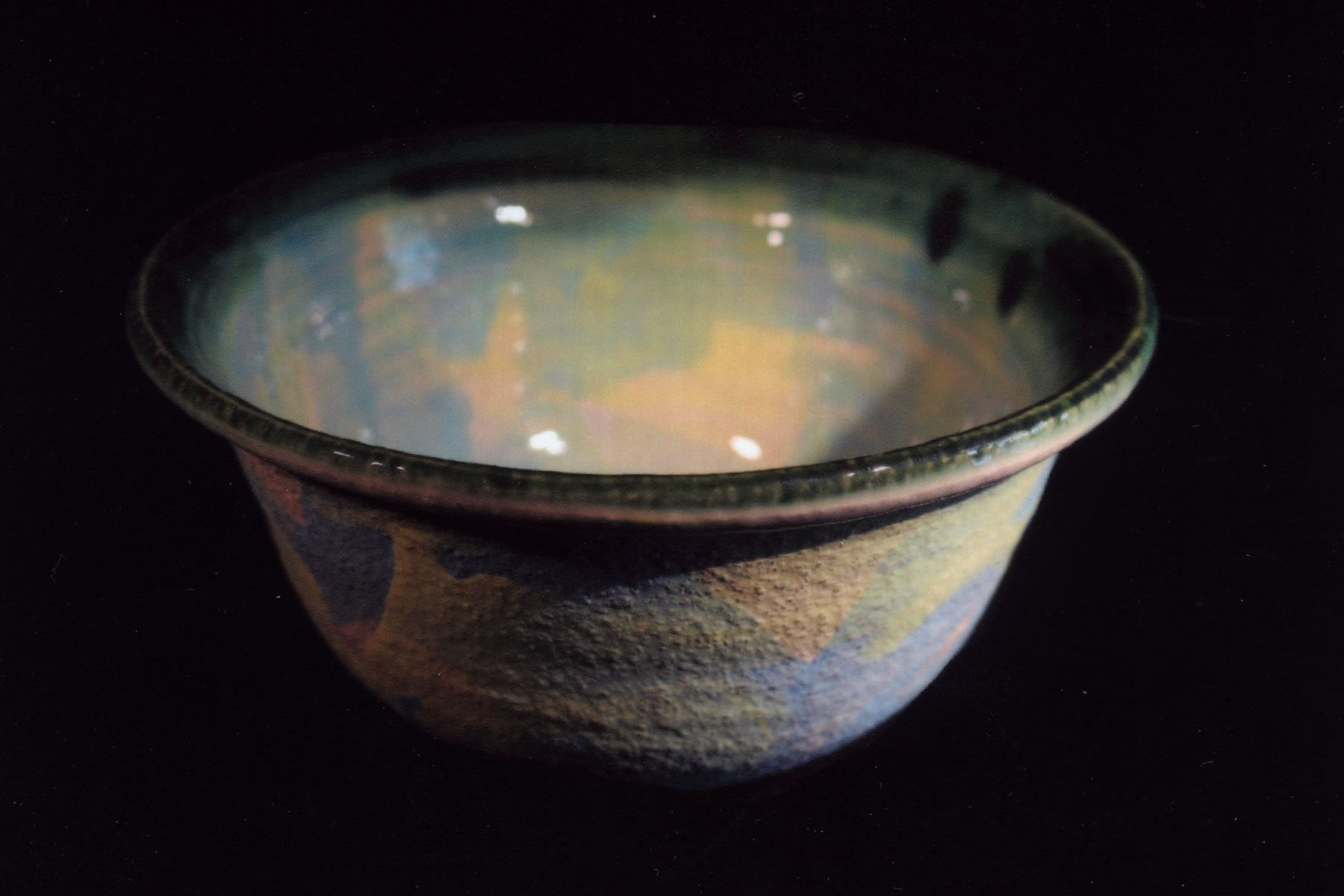 Stoneware bowl by East Yorkshire ceramicist Stewart Taylor