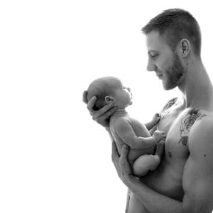 Dad and baby photography beautiful baby portrait baby photographers in east yorkshire