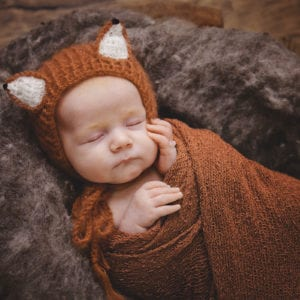 cute newborn baby photography fox newborn photography beautiful newborn photoshoot