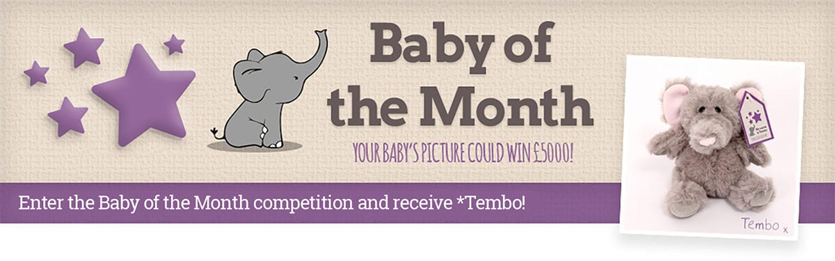 Emma's Diary Baby of the Month competition banner